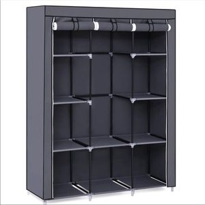 51 Inch Portable Closet Wardrobe Storage Organizer